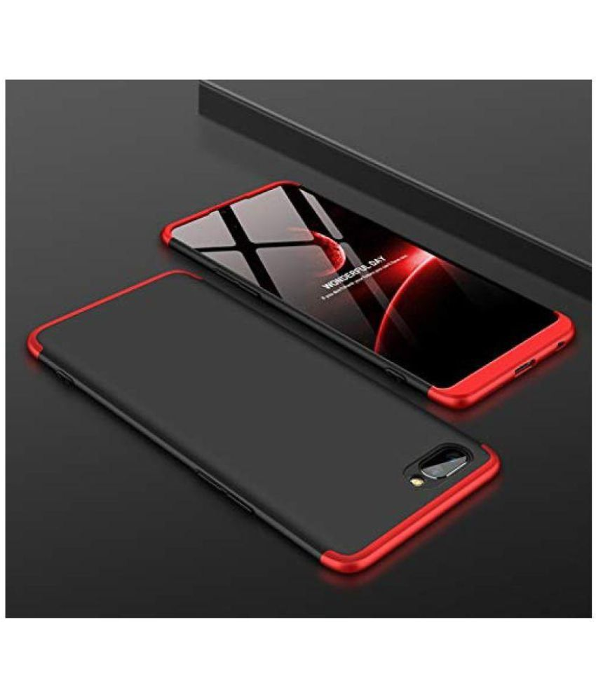 Oppo A3s Shock Proof Case Jma - Red Original Gkk 360 U00b0 Protection Slim Case