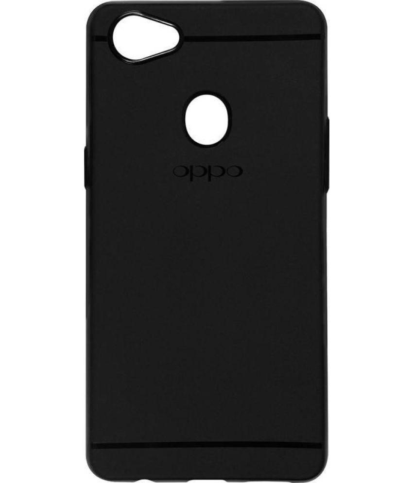 Oppo F7 Plain Cases MAXX3D - Black SHOCK PROOF
