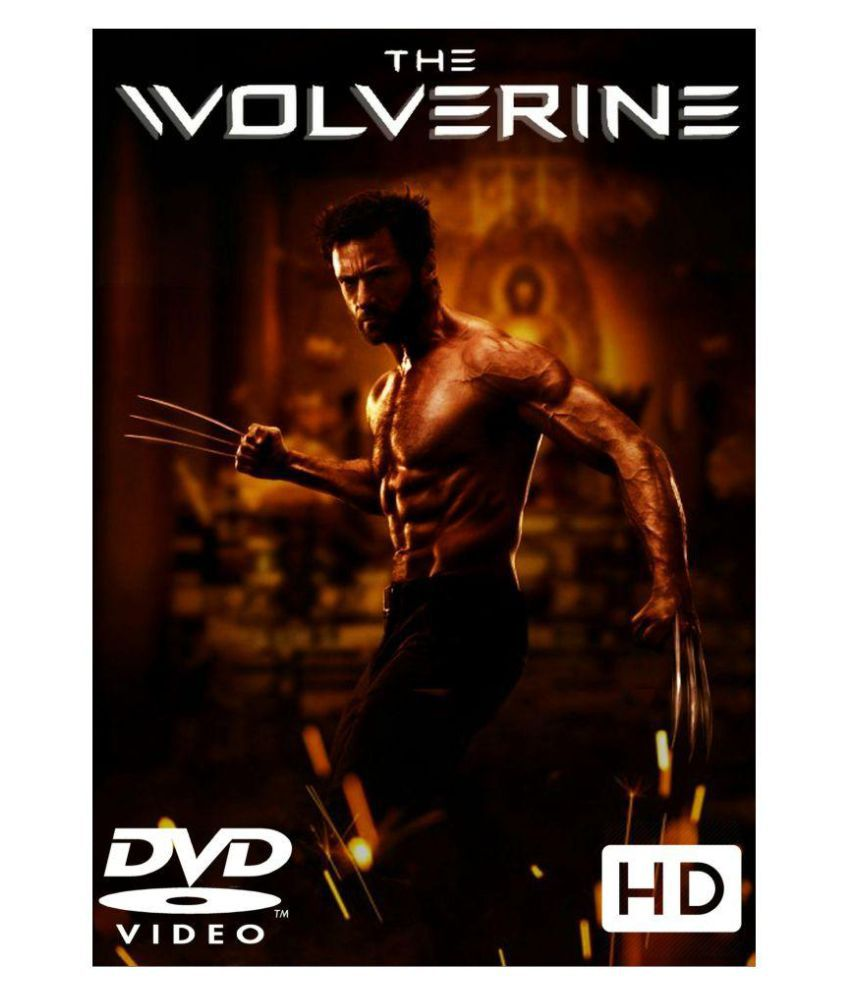 ae91404677e X-MEN 6 - THE WOLVERINE ( DVD )- Hindi: Buy Online at Best Price in ...