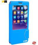Smartron Tphone T5511 Flip Cover by 14M - Blue