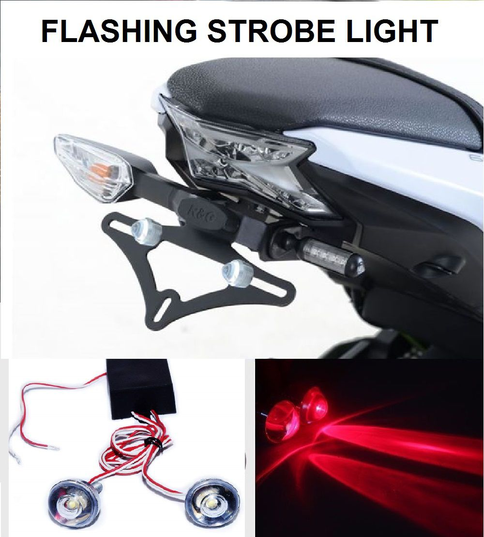 Bike Led Strobe Warning Light Flashing Red Set Of 2 Buy Home Hobby Police Car Lights With Leds
