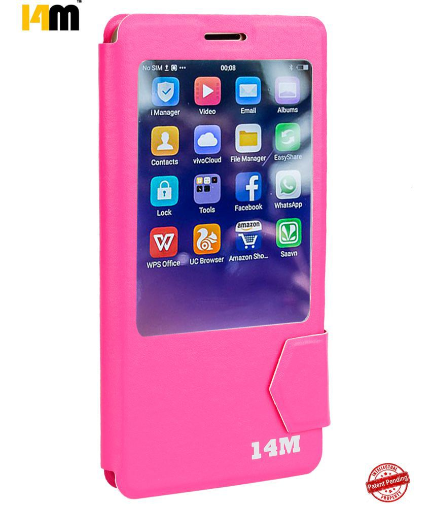 LYF water 2 Flip Cover by 14M - Pink