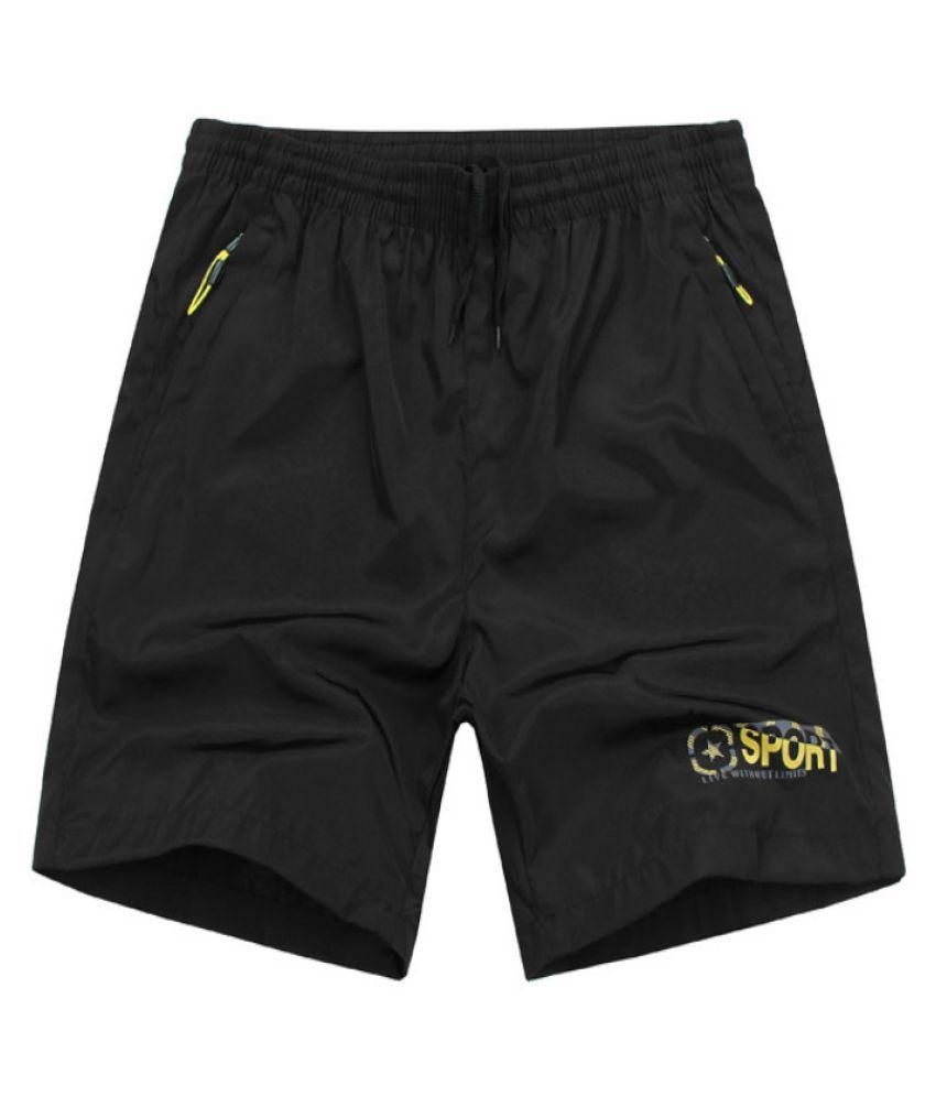 Levaso Black Shorts