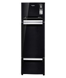 Whirlpool 240 Ltr No Star (FP 263D Protton Roy, Caviar Black) Multi Door Refrigerator - Black