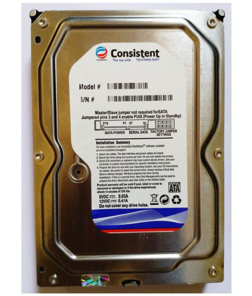Consistent CT3500SC 500 GB Internal Hard Drive Internal Hard drive