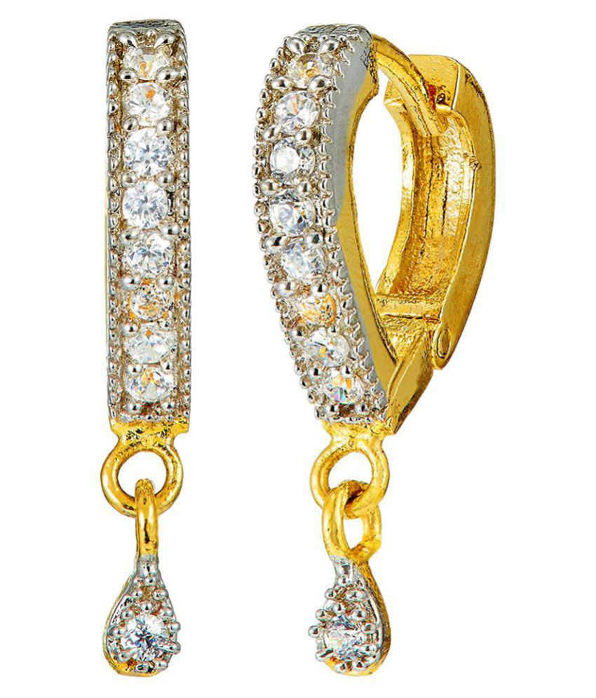 Bandish American Diamond drop Earing