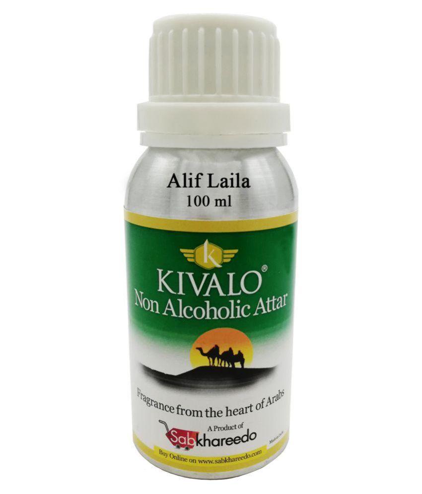Kivalo Ⓡ Alif Laila Fragrance Pure Original 100 Gms Non Alcoholic Attar