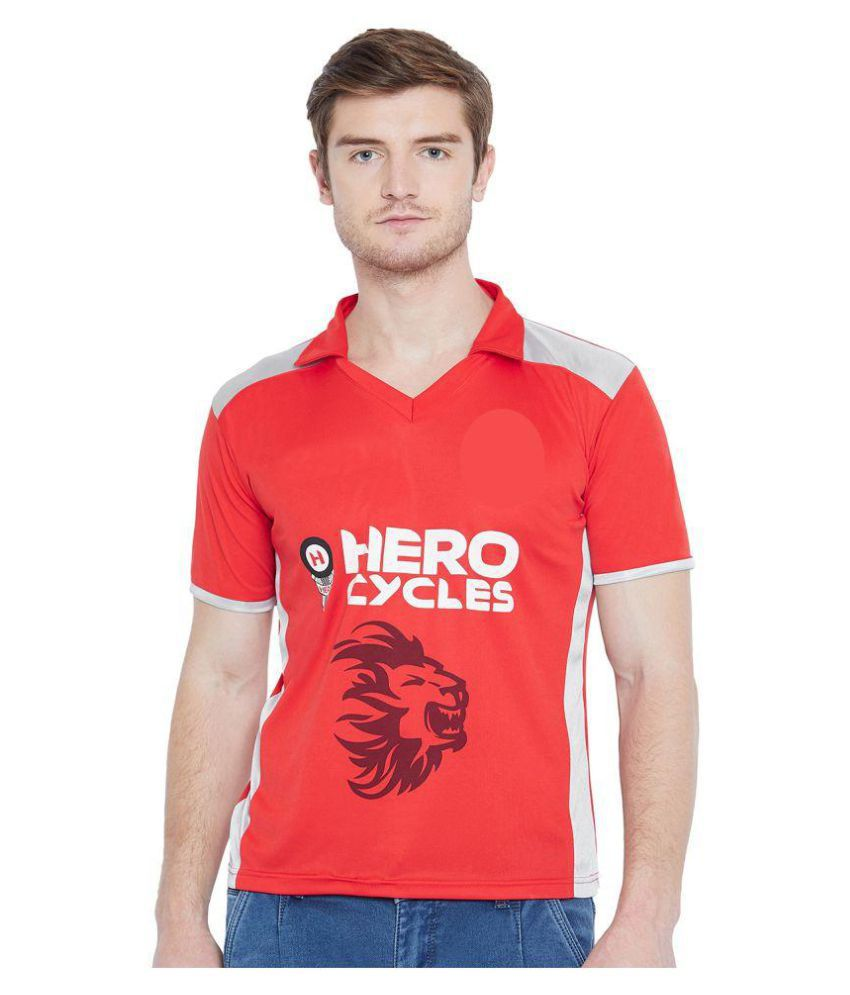 Sportigoo Unisex Kings Xi Punjab Cricket Jersey