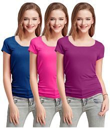 dfec14d5047a Women's Tees & Polos: Buy T-shirts for Women Online at Best Prices ...