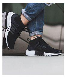Nike Air Presto Ultra Flyknite Black Running Shoes
