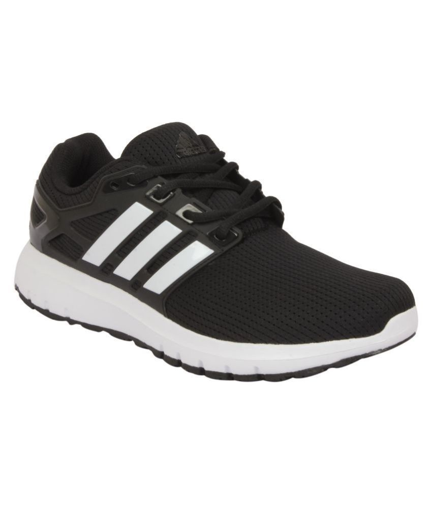 65b4f1994 Adidas ENERGY CLOUD WTC M Black Running Shoes - Buy Adidas ENERGY CLOUD WTC  M Black Running Shoes Online at Best Prices in India on Snapdeal