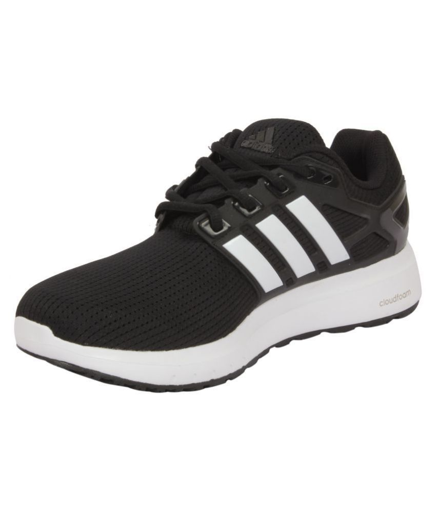 info for 94619 50d83 ... Adidas ENERGY CLOUD WTC M Black Running Shoes ...