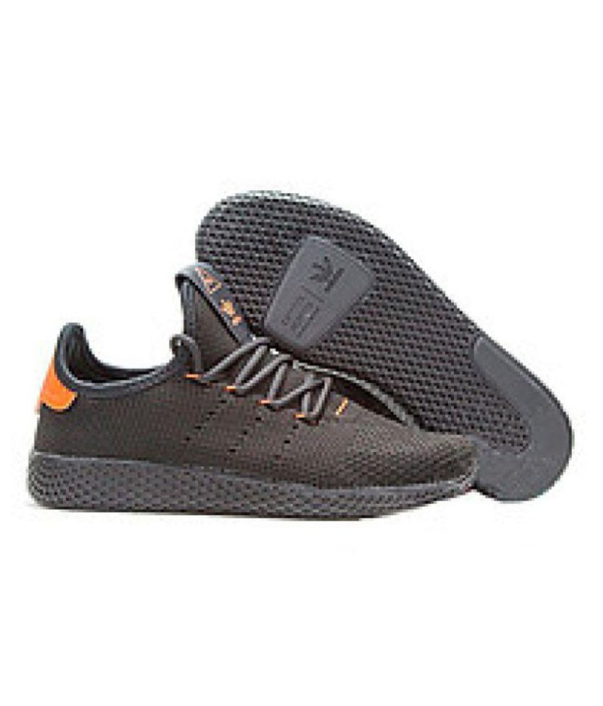73a444a83ab55 Adidas PHARRELL WILLIAMS TENNIS HU Black Training Shoes - Buy Adidas ...