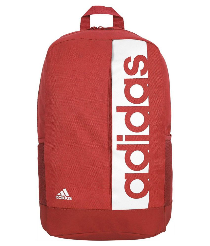 Adidas Red Canvas College Bags Backpacks- 20 Ltrs - Buy Adidas Red Canvas  College Bags Backpacks- 20 Ltrs Online at Low Price - Snapdeal