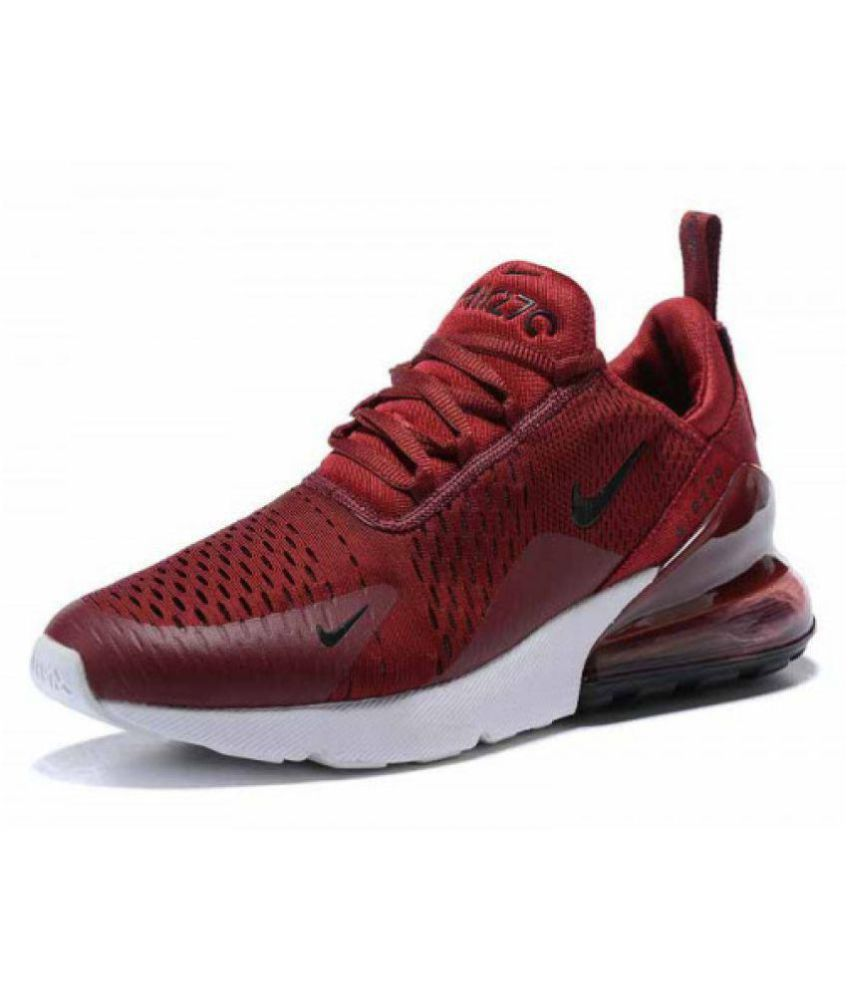 hot sale online 4fd13 95183 Nike Airmax 270 Red Running Shoes Nike Airmax 270 Red Running Shoes