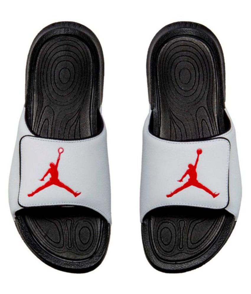0c9ba2d4d79 Nike JORDAN HYDRO 6 White Slide Flip flop Price in India- Buy Nike JORDAN  HYDRO 6 White Slide Flip flop Online at Snapdeal