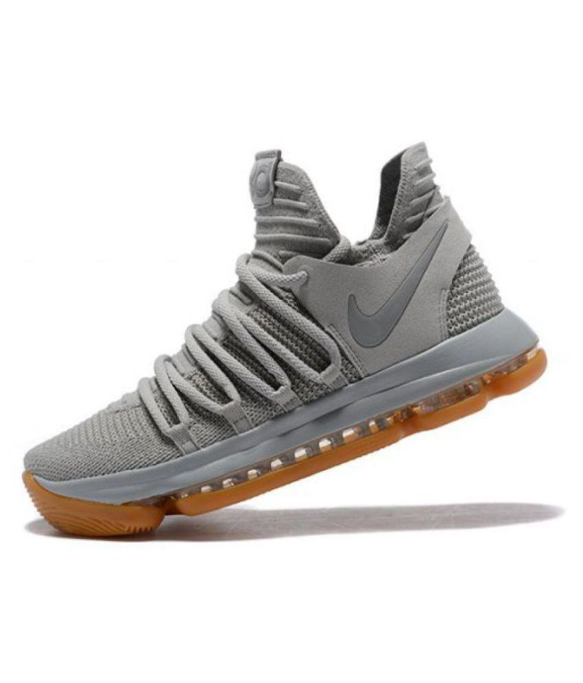 261eea7571e7 Nike Zoom KDX Gray Basketball Shoes - Buy Nike Zoom KDX Gray Basketball  Shoes Online at Best Prices in India on Snapdeal