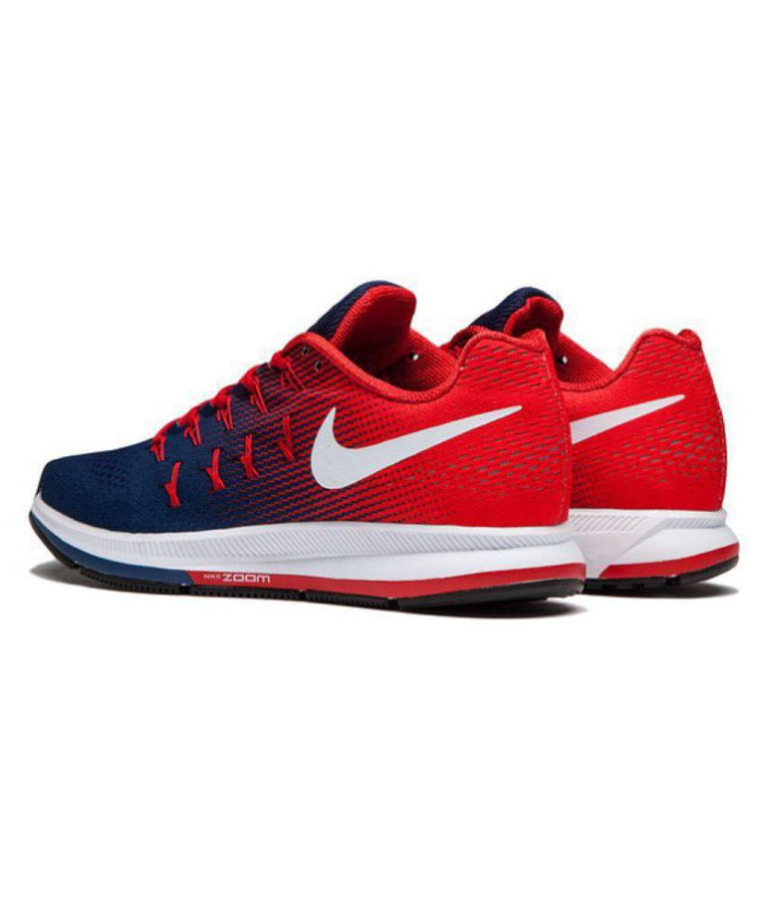 the latest ed09e 1c1a3 ... Nike Zoom Pegasus 33 Red Blue Running Shoes ...