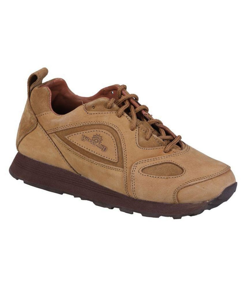 1b7488d89c2 Woodland G 777WS CAMEL Lifestyle Camel Casual Shoes