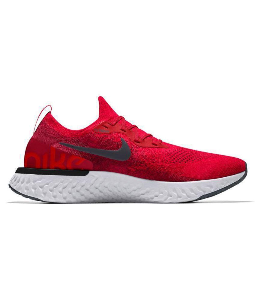 db855d7c3b3b Nike epic react flyknit Red Running Shoes - Buy Nike epic react ...