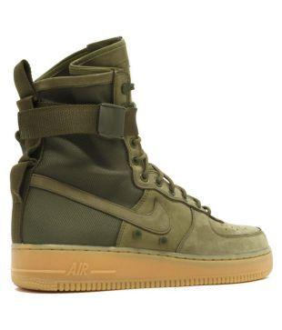 Nike Air Force Sf1 Green Training Shoes