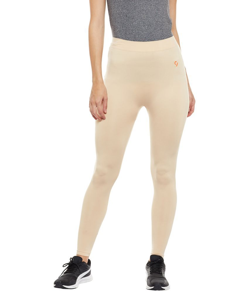 C9 Poly Cotton Tights - Beige