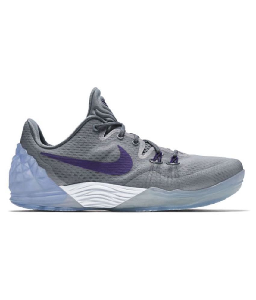 separation shoes 535c3 03fea Nike Zoom Kobe Venomenon 5 EP Limit Gray Basketball Shoes - Buy Nike Zoom  Kobe Venomenon 5 EP Limit Gray Basketball Shoes Online at Best Prices in  India on ...