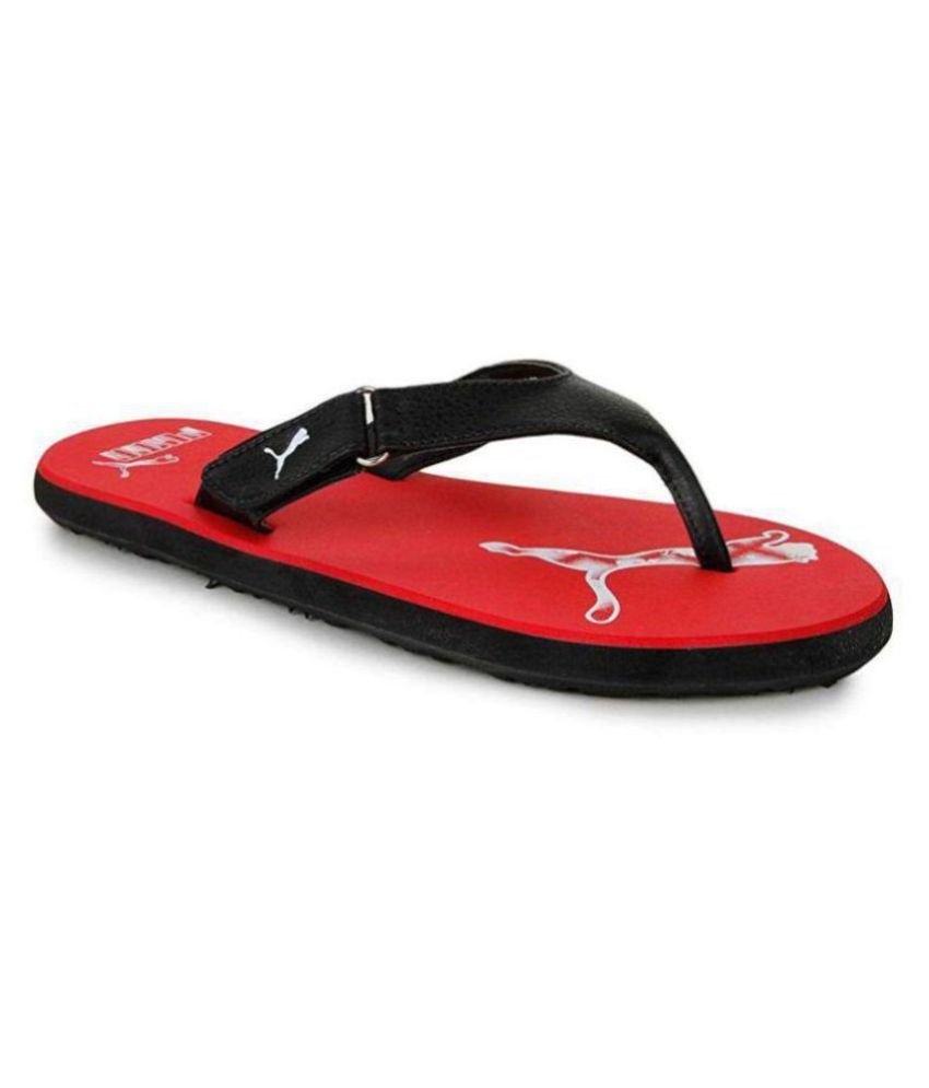 c49b1396d205 Puma Mens Breeze 2 Ng Idp Hawaii Red Thong Flip Flop Price in India- Buy  Puma Mens Breeze 2 Ng Idp Hawaii Red Thong Flip Flop Online at Snapdeal