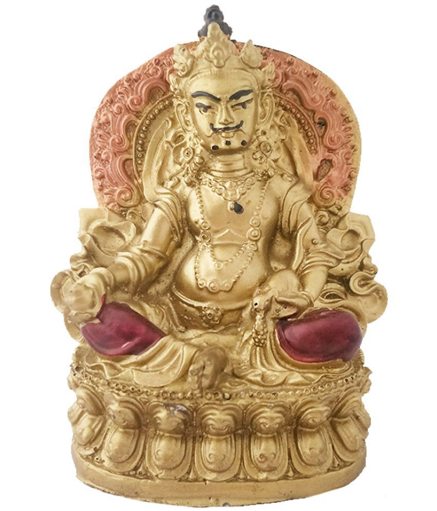 Divya Mantra Feng Shui Tibetan Wealth God Jambhala Kubera For Success and  Abundance