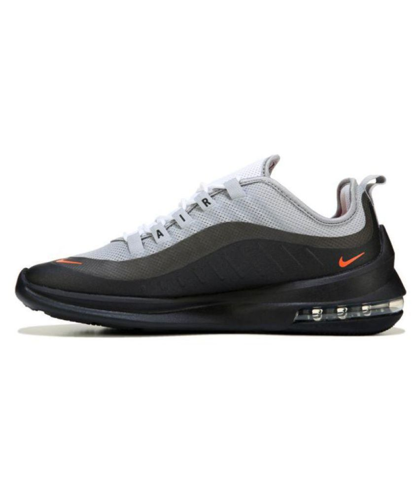 Nike Air Max Axis Gray Black Orange Grey Running Shoes - Buy Nike ... 1216adcc2