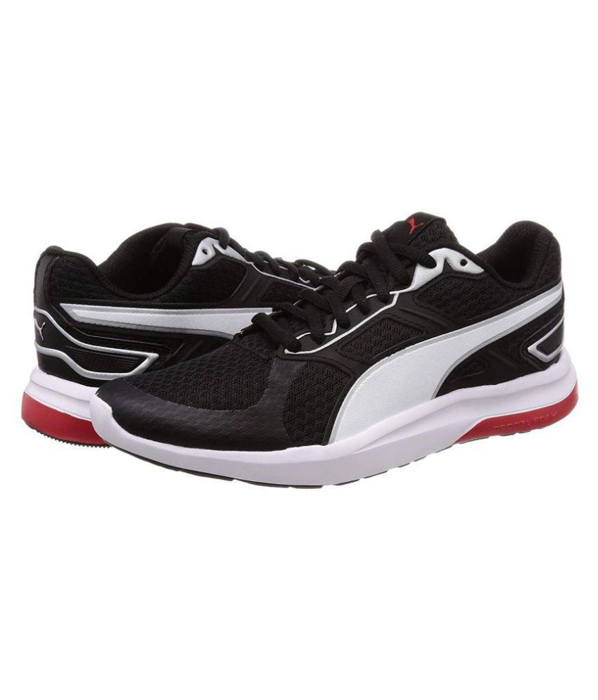 Puma Escaper Tech Running Shoes Black  Buy Online at Best Price on ... 1d773ca91