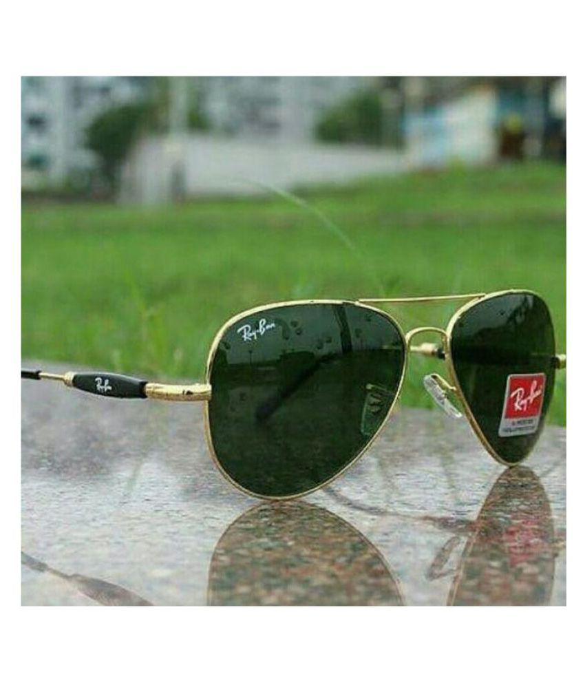 8ff58ab8a0 Ray Ban Avaitor Green Aviator Sunglasses ( 3517 ) - Buy Ray Ban Avaitor Green  Aviator Sunglasses ( 3517 ) Online at Low Price - Snapdeal