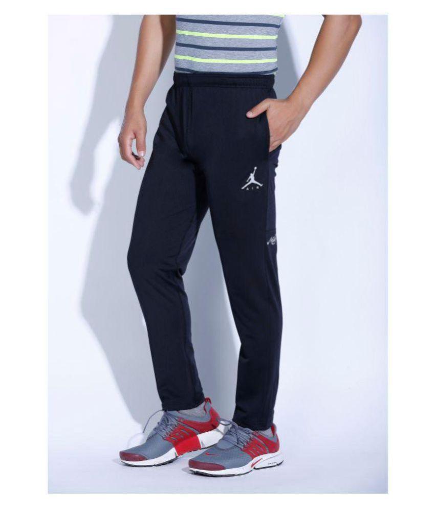 Nike Air Jordan Black Polyester Lycra