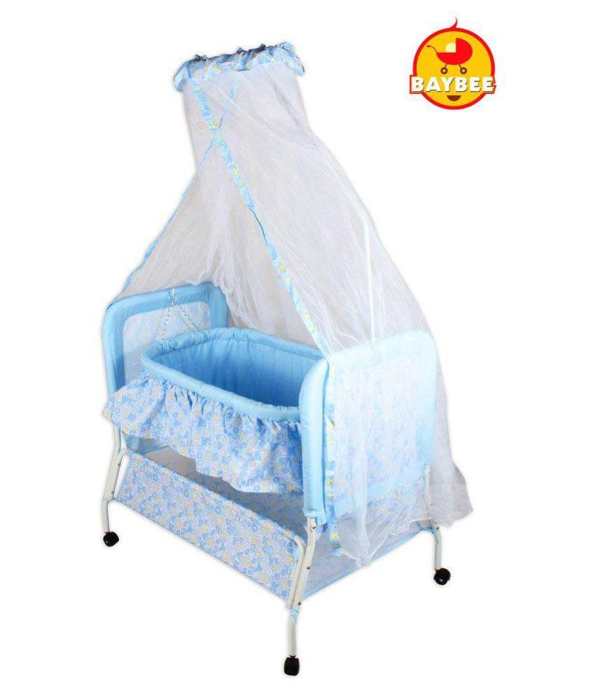 Baybee Sleep-in Cradle (Blue)