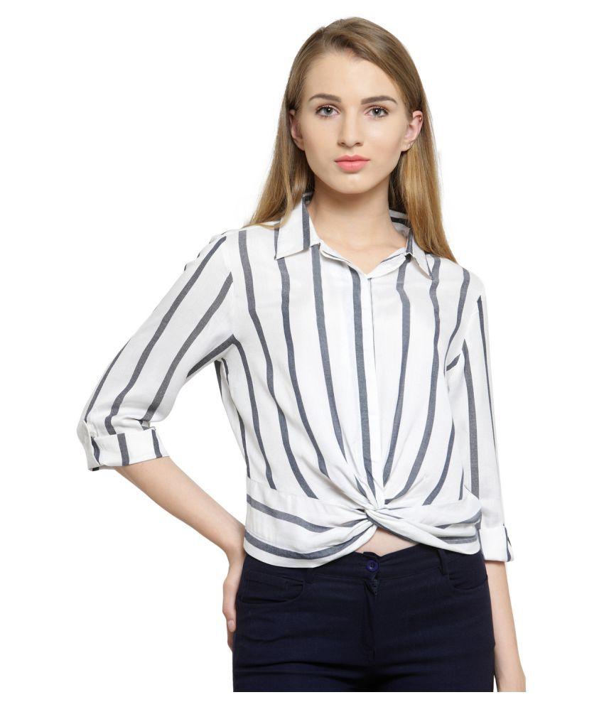 Purplicious Viscose Shirt