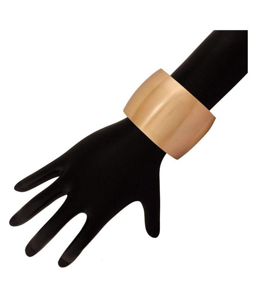AccessHer Metallic Matte Finish Free Size Hand Cuff