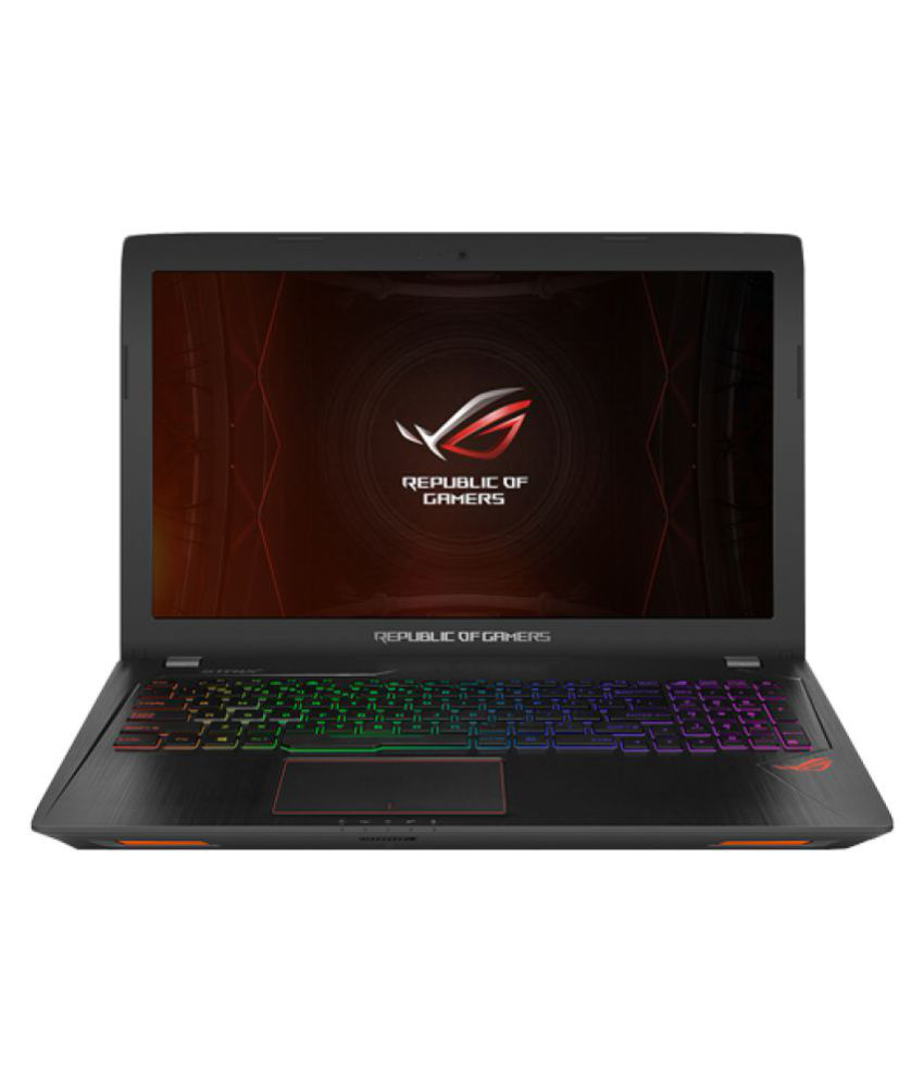 Asus ROG Series GL553VE-FY168T Notebook Core i7 (7th Generation) 8 GB 39.62cm(15.6) Windows 10 Home without MS Office 4 GB Black