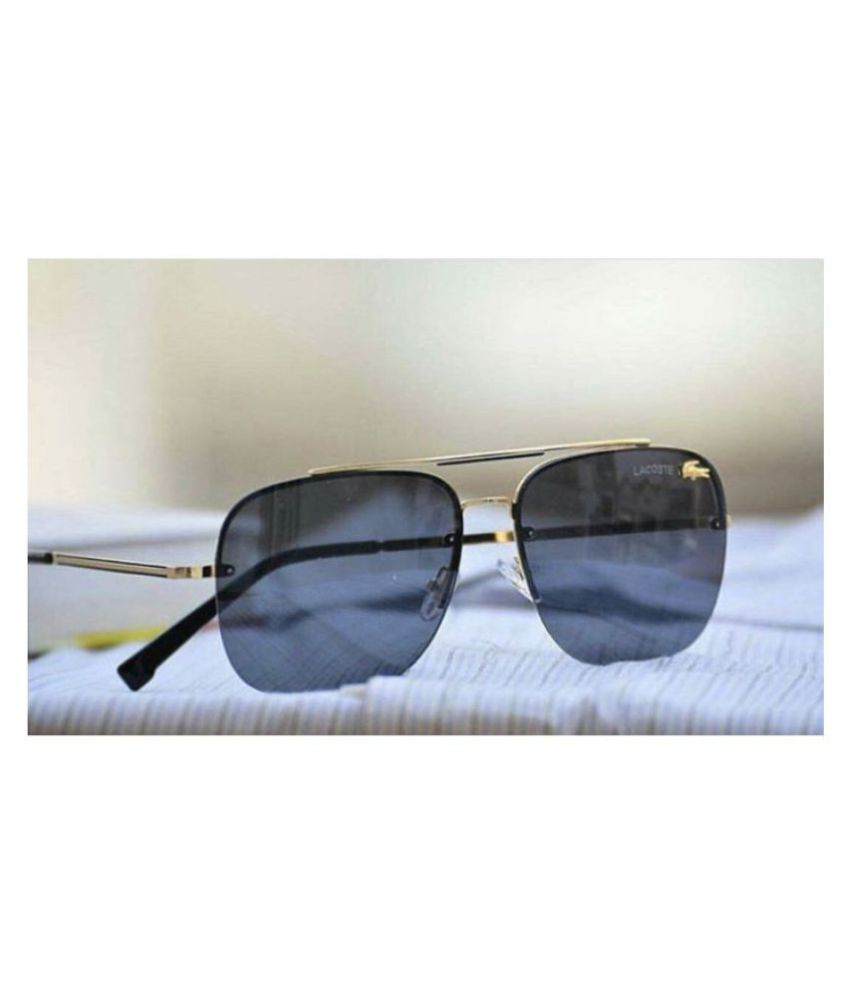 fc343e10f14 LACOSTE SUNGLSS Black Aviator Sunglasses ( L11089 ) - Buy LACOSTE SUNGLSS  Black Aviator Sunglasses ( L11089 ) Online at Low Price - Snapdeal