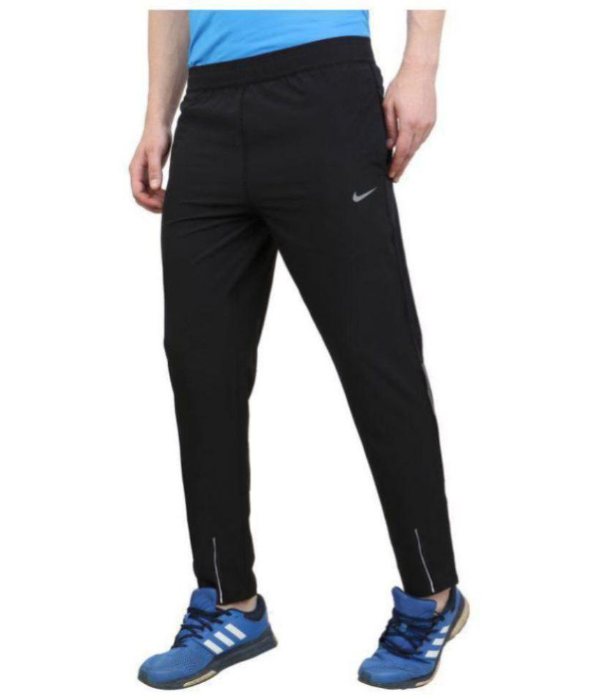 bd54fd31ca64 Nike Black Cotton Trackpants - Buy Nike Black Cotton Trackpants Online at  Low Price in India - Snapdeal