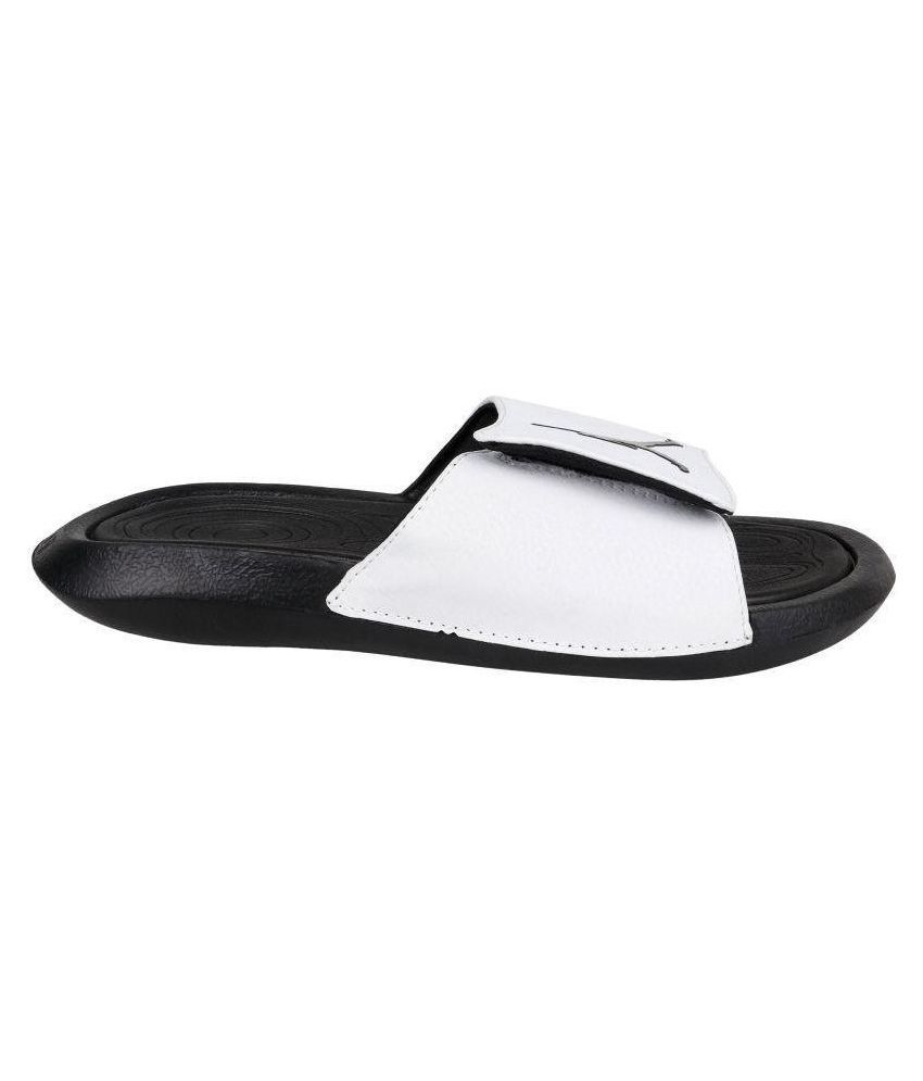 46321d668754 Nike JORDAN HYDRO 6 White Slide Flip flop Price in India- Buy Nike ...