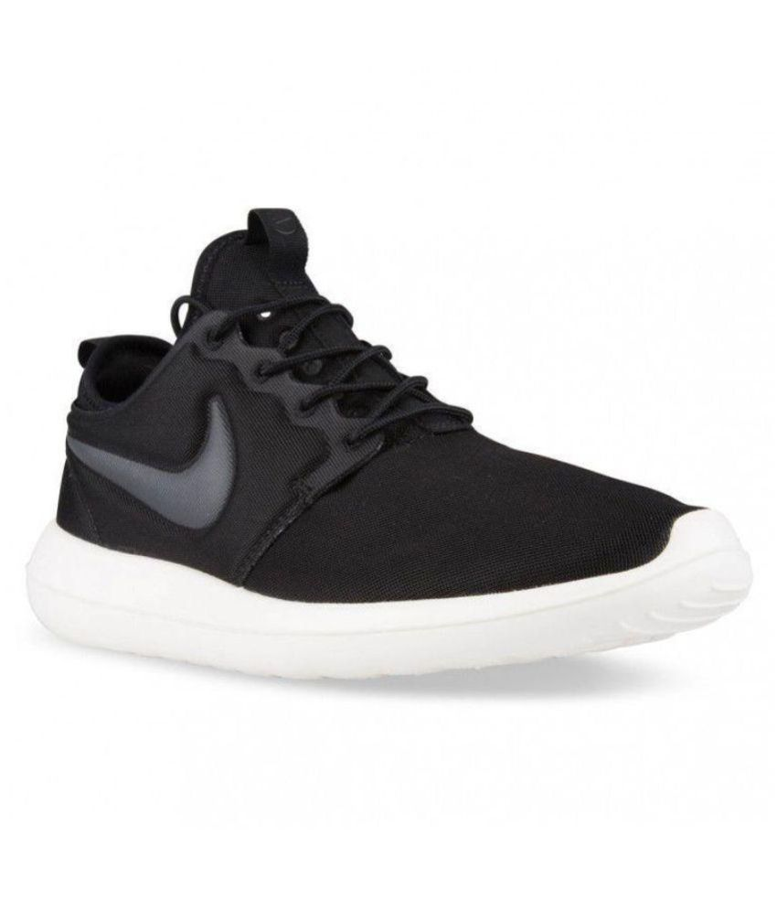 watch 15c77 a8d96 Nike Roshe Two Black Running Shoes