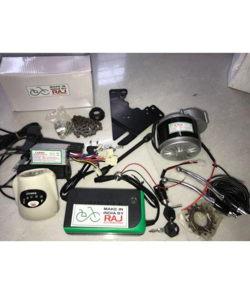 RAJ ELECTROMOTIVES Electric Cycle Conversion Kit 24V250W/ Electric cycle kit