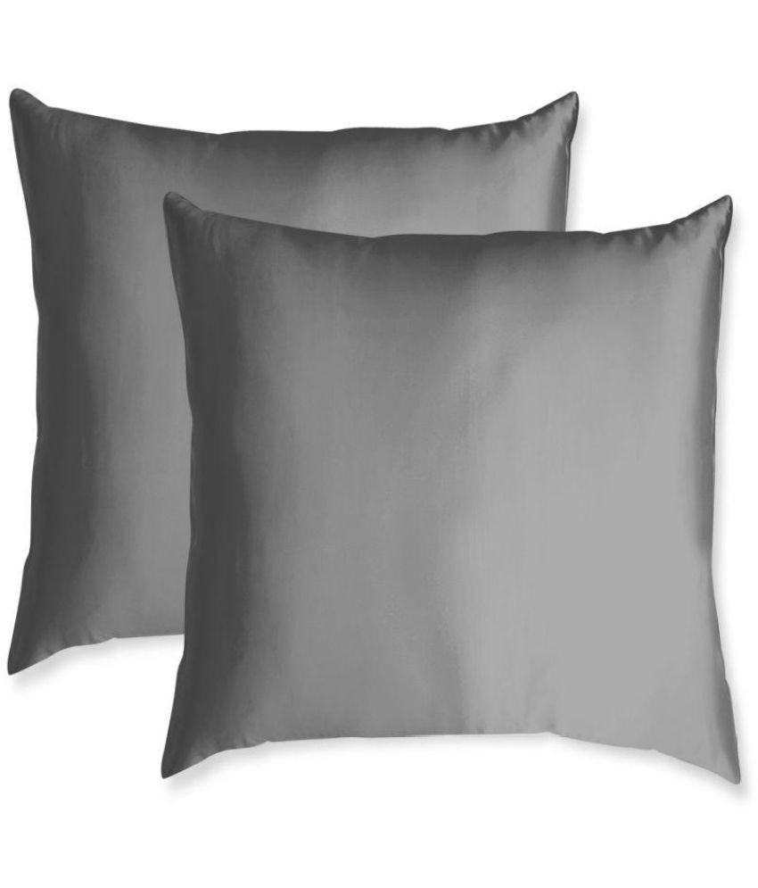 American-Elm Set of 2 Polyester Cushion Covers 45X45 cm (18X18)