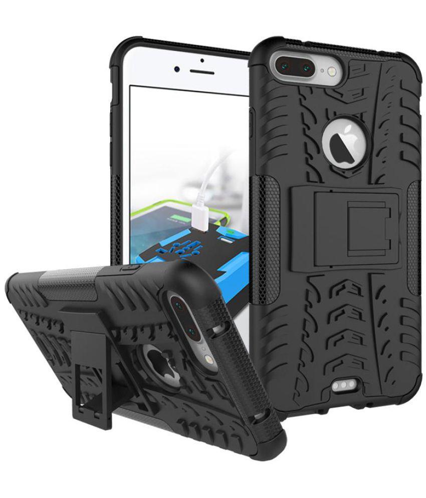 Iphone 6 Plus Shock Proof Case JKR - Black