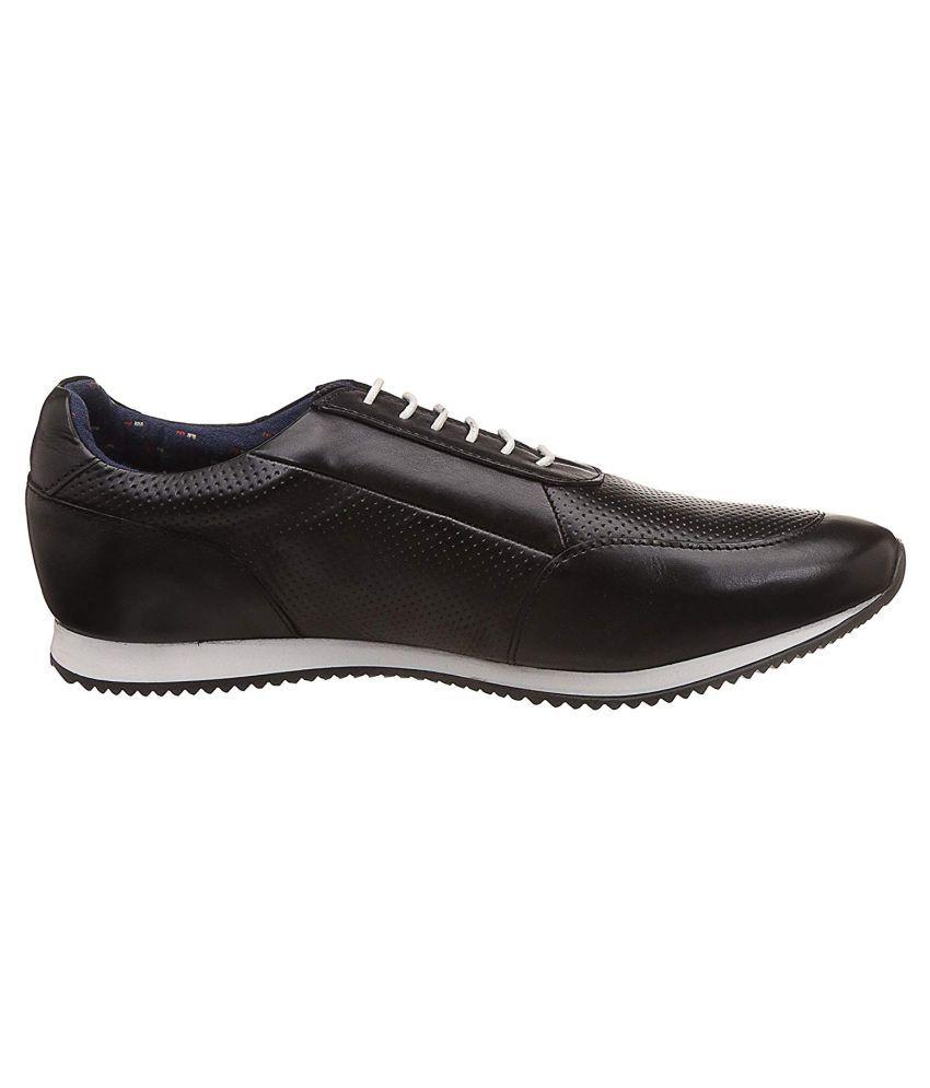 Louis Philippe Men Sneakers Black