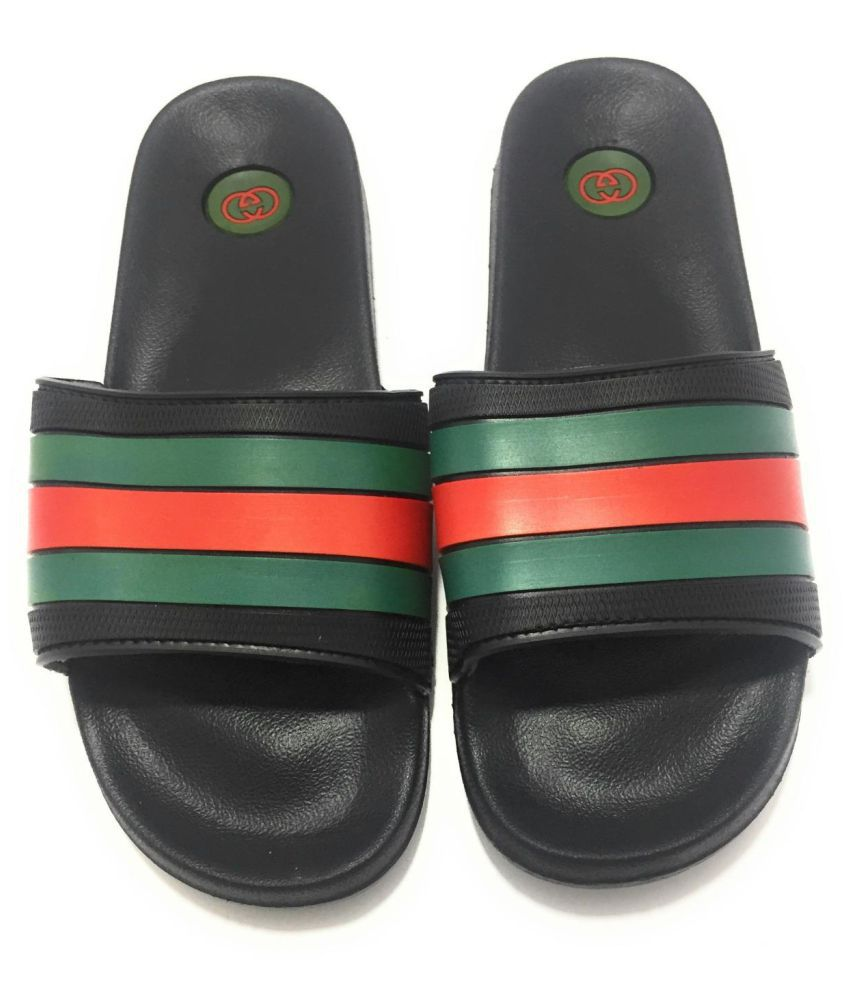 cc3217db06ef Gucci Slide Green Daily Slippers Gucci Slide Green Daily Slippers ...