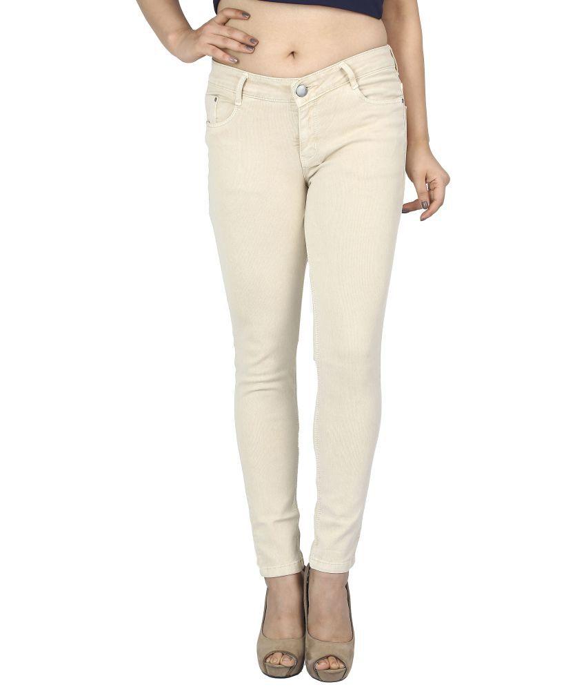Obeo Denim Jeans - Beige