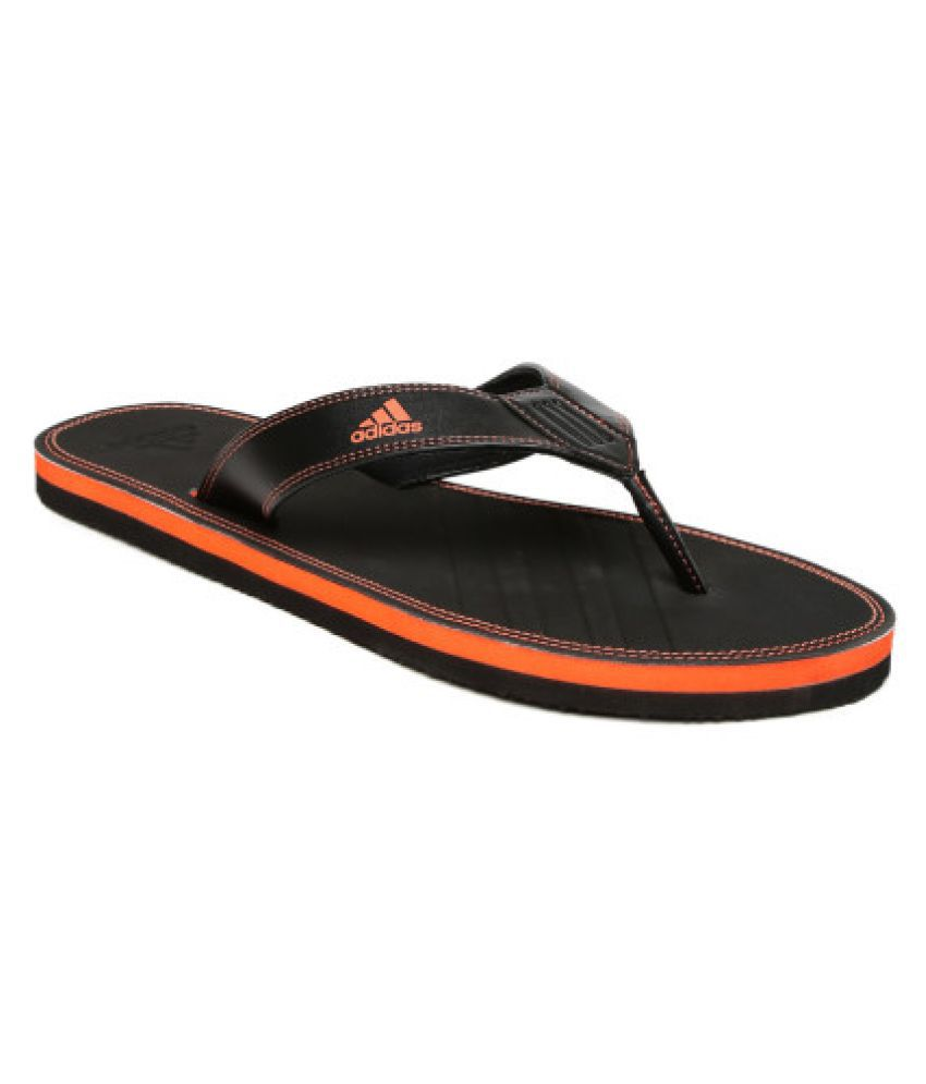 6f15da166b46 Adidas BRIZO 4.0 MS Black Thong Flip Flop Price in India- Buy Adidas ...