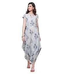 02f68fcf28 Dhoti style Stitched Kurtis: Buy Dhoti style Stitched Kurtis Online ...