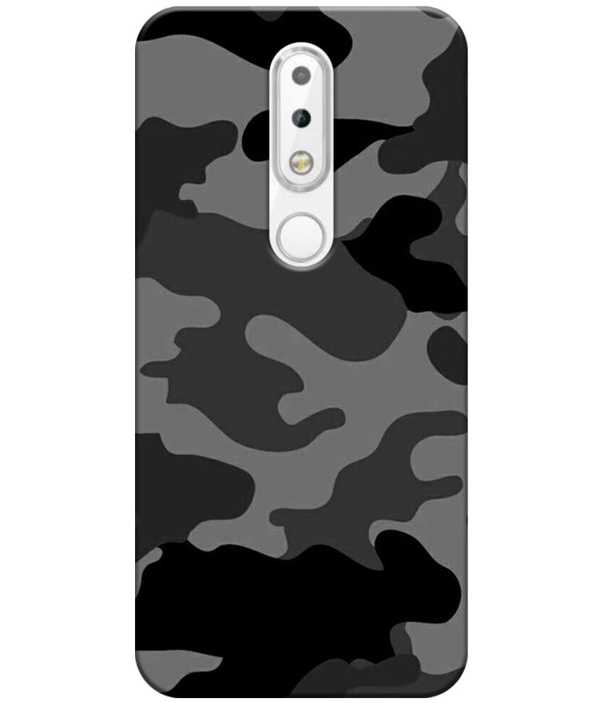 huge discount c4c41 80091 Nokia 6.1 Plus Printed Cover By Tecozo 3d Printed Cover